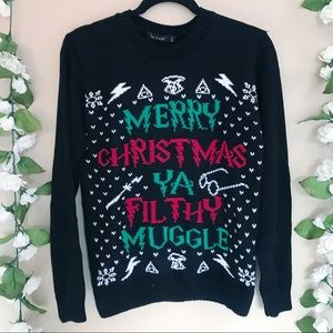 NWT Home Alone/Harry Potter Ugly Christmas Sweater